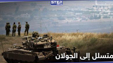 فرع سعسع يقبض على رجل حاول الدخول إلى الجولان ويطلق سراحه بعد قصف إسرائيلي