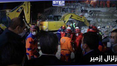 إنقاذ رجل تركي مسن من بين الركام بعد 34 ساعة من زلزال إزمير