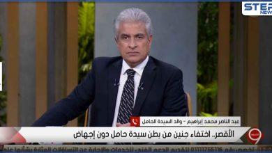 بالفيديو|| اختفاء أجنة توأم من رحم سيدة مصرية حامل بالشهر السادس