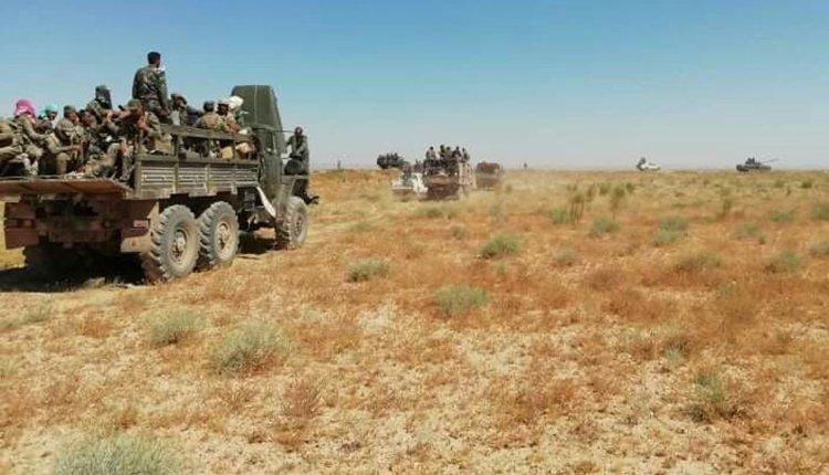 بعد فشل حملتها بديرالزور.. قوات النظام السوري بدعمٍ روسي تتحرك عسكرياً بريف الرقة