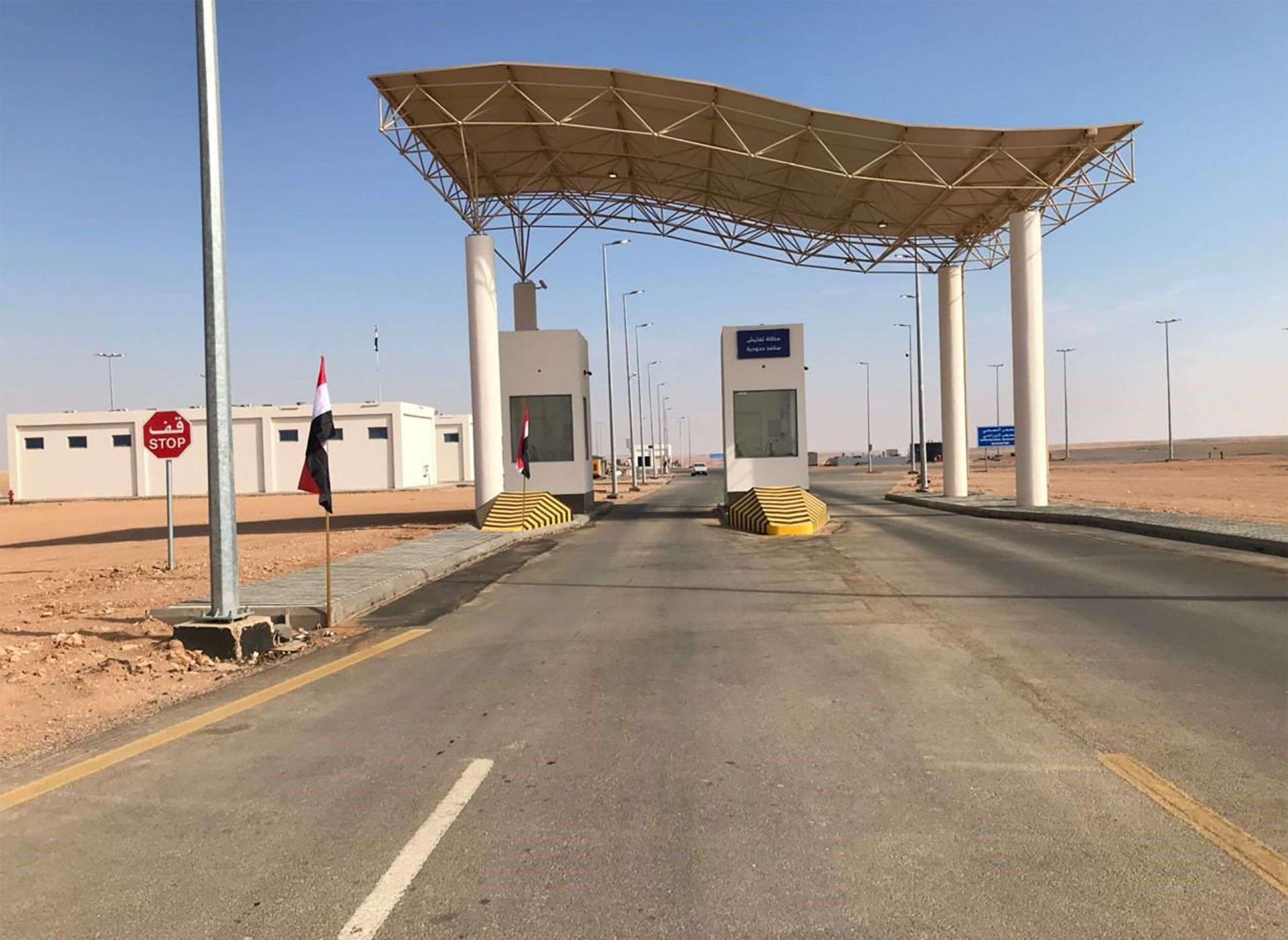 معبر عرعر أمل العراق بتحسين حركة التجارة مع الوطن العربي