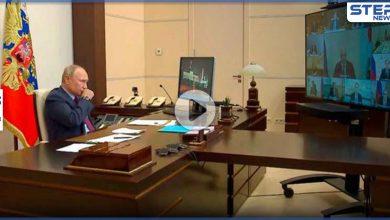بالفيديو|| بوتين يتعرض لنوبة سعال أمام الكاميرا.. والكرملين يعلق على حالته الصحية