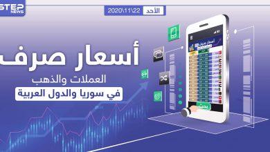 أسعار الذهب والعملات للدول العربية وتركيا اليوم الأحد الموافق 22 تشرين الثاني 2020