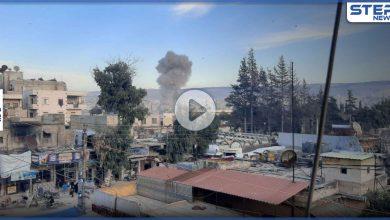 بالفيديو|| قتلى وجرحى جراء انفجار سيارة مفخخة بمدينة عفرين شمال حلب
