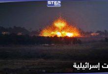 الطيران الحربي الإسرائيلي يشن غارات ليلية على القنيطرة وريف دمشق