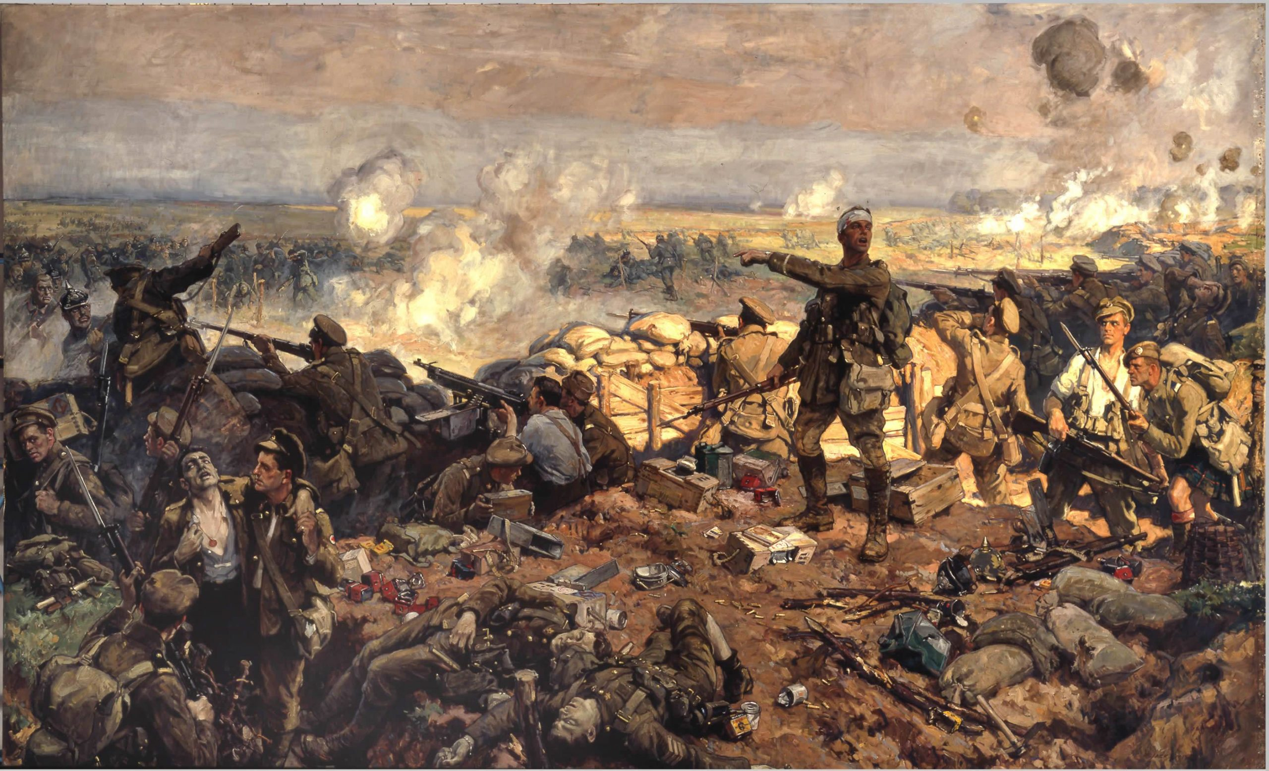 تفسير حلم رؤية الحرب