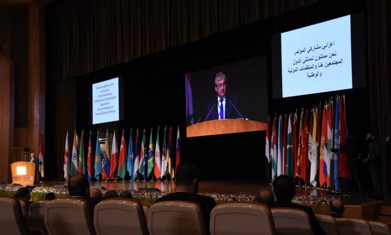 """"""" مؤتمر عودة اللاجئين"""" في دمشق .. إقصاء للحقائق وذرائع روسيا والنظام السوري أمام المجتمع الدولي"""