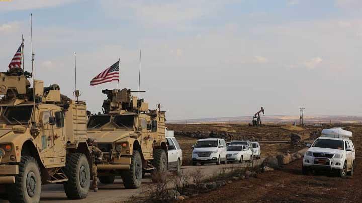 القوات الأمريكية تنسحب من قاعدة في شرق سوريا نحو الأراضي العراقية
