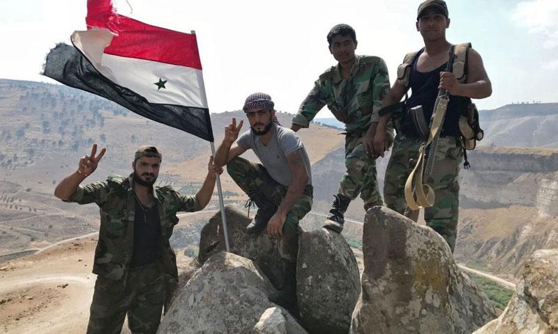 النظام السوري يقتحم الكرك في درعا واتفاقات جديدة في المنطقة