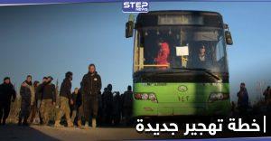 الباصات الخضراء قد تعود للقنيطرة بخطة تهجير جديدة وفرع سعسع يطرح حلّين لمقاتلين سابقين بالمعارضة