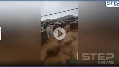 بالفيديو || فيضانات جارفة تجتاح مدن جنوب إيران