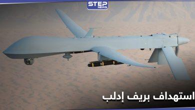 """طائرة مسيرة تستهدف سيارة """"مجهولة الهوية"""" غرب إدلب (صورة)"""