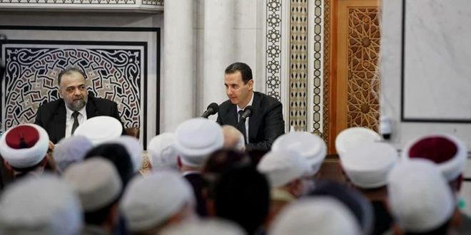 بالفيديو||بعد كلمة لـ رئيس النظام السوري هاجم فيها ماكرون وأردوغان.. سلسلة انفجارات في القنيطرة