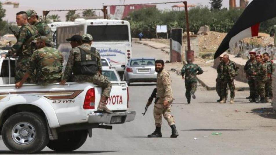 """قوات النظام السوري تُقدم على خطوة هي الأولى في بلدة السخنة.. ومراسلة """"ستيب"""" تكشف التفاصيل"""