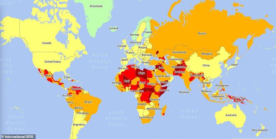 أخطر دول العالم لعام 2021