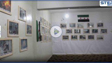 """عدسة ستيب نيوز ترصد فعالية إقامة معرض """"الشهيد الإعلامي حسين الخطاب"""" في مدينة إدلب"""