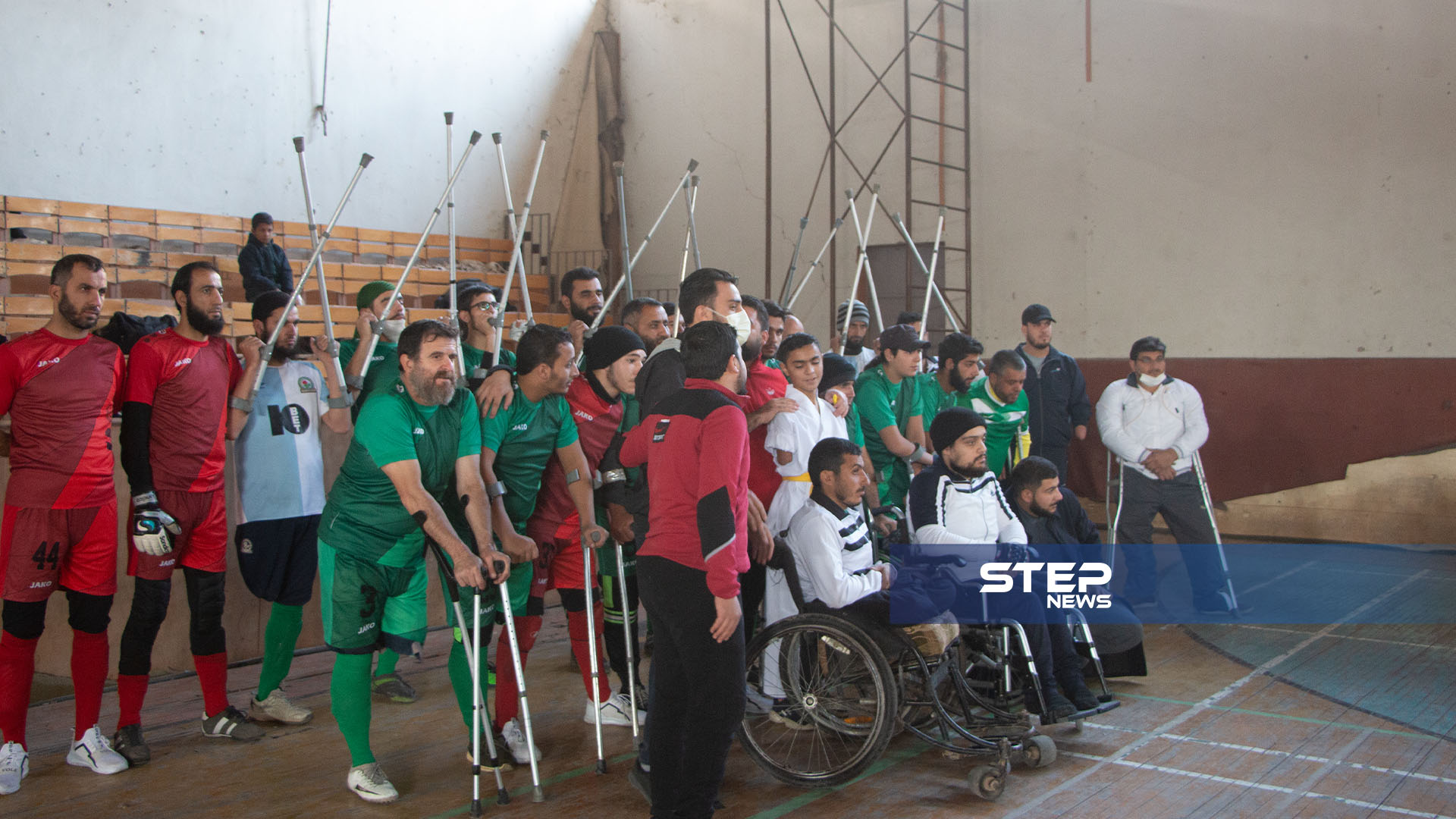 أجواء فعالية رياضية في مدينة إدلب