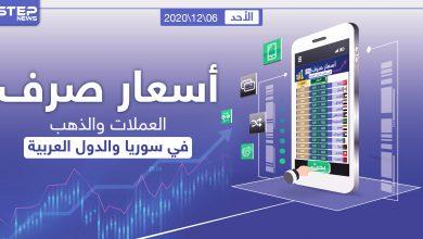 أسعار الذهب والعملات للدول العربية وتركيا اليوم الأحد الموافق 06 كانون الأول 2020