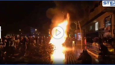 بالفيديو|| تجدد مظاهرات فرنسا.. ومشاهد عنف من الشرطة وسط إطلاق نار كثيف