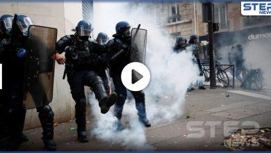 مواجهات مع الشرطة في باريس