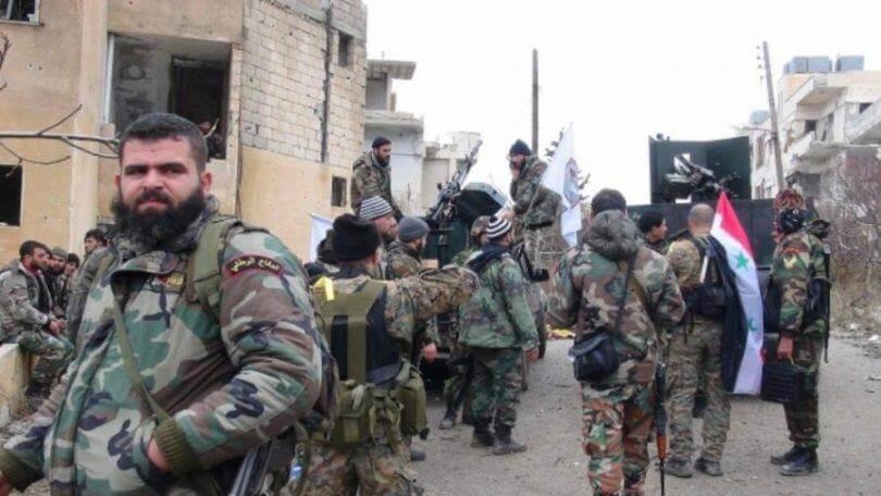 ميليشيا الدفاع الوطني تفتعل أمراً سرياً في بلدة مسكنة بريف حلب الشرقي