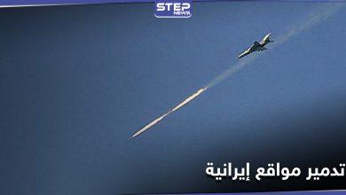 خاص|| طيران حربي يستهدف شحنة أسلحة للميليشيات الإيرانية بدير الزور قادمة من العراق