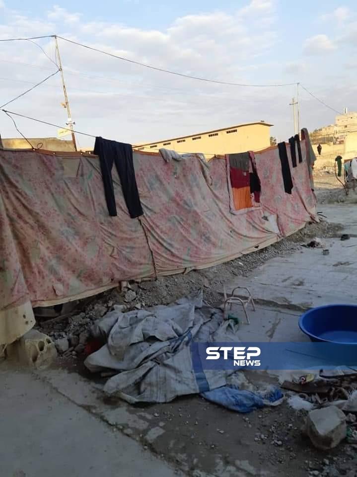 قصة عائلة نازحة بـ ريف الرقة الغربي أكبر أحلامها مدفئة وبرميل مازوت