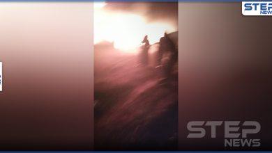 بالفيديو || حرائق تندلع بمخيمات شمال إدلب وإصابات خطرة بين المدنيين