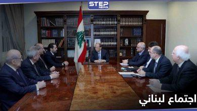اجتماع استثنائي لوزارة الدفاع ورئيس البلاد في لبنان لبحث أمور هامّة