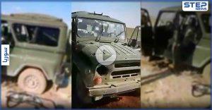 تدمير آلية لـ قوات النظام السوري