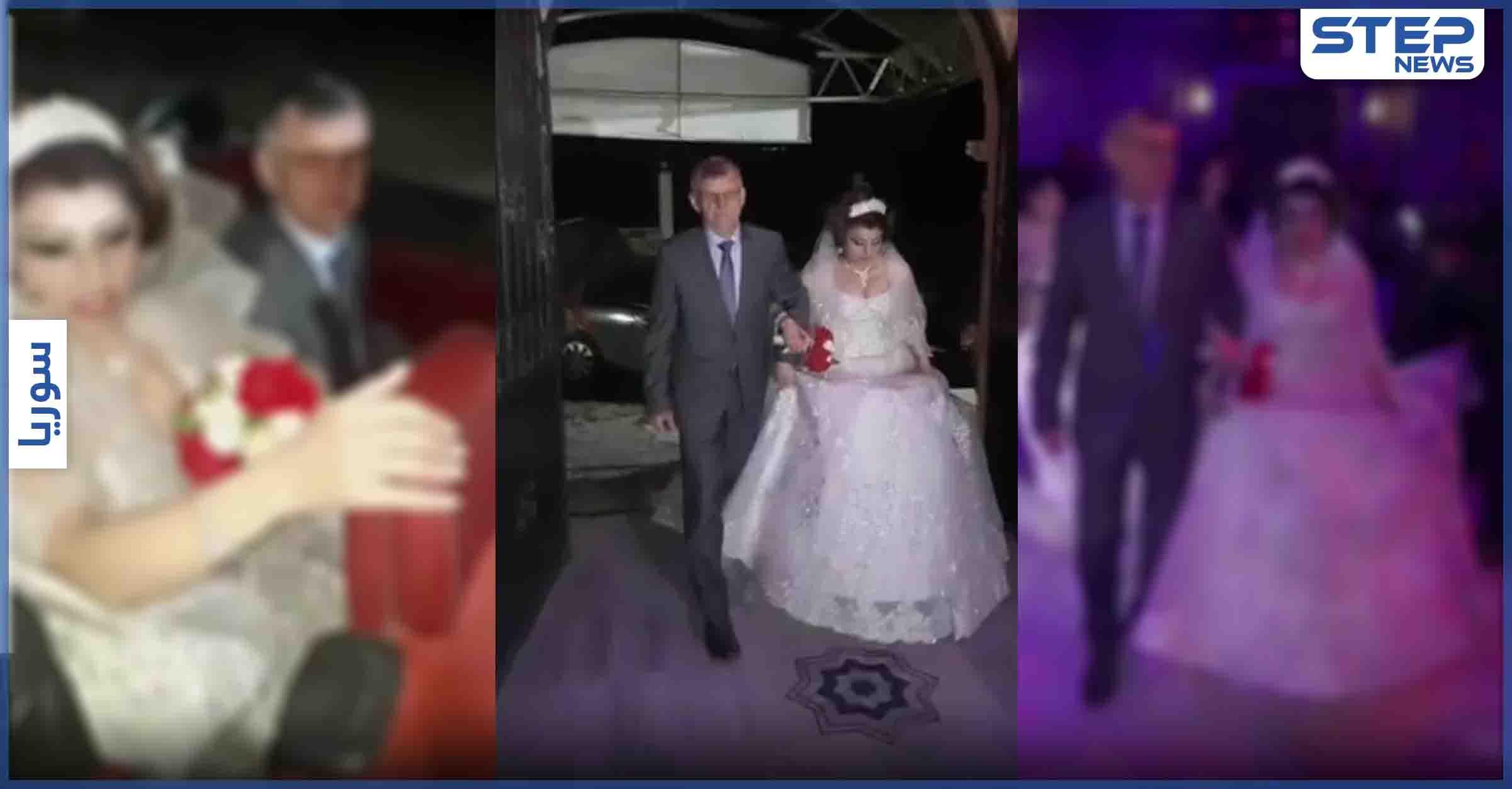 بالفيديو || في ظاهرة منتشرة.... مؤيدون يحتفون بزواج شابة سورية من شاب روسي في مدينة جبلة