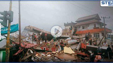 بالفيديو|| مشاهدة مؤلمة من زلزال إندونيسيا الذي خلف عشرات الضحايا والخسائر المادية