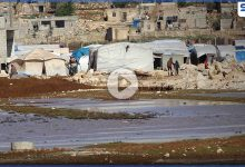 عدسة ستيب نيوز ترصد الأوضاع الإنسانية في مخيمات الشمال السوري جراء الفيضانات والسيول