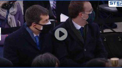 بالفيديو|| وزير النقل الأمريكي المثلي الجنس يقدم زوجه ويشكره خلال خطابه الإفتتاحي