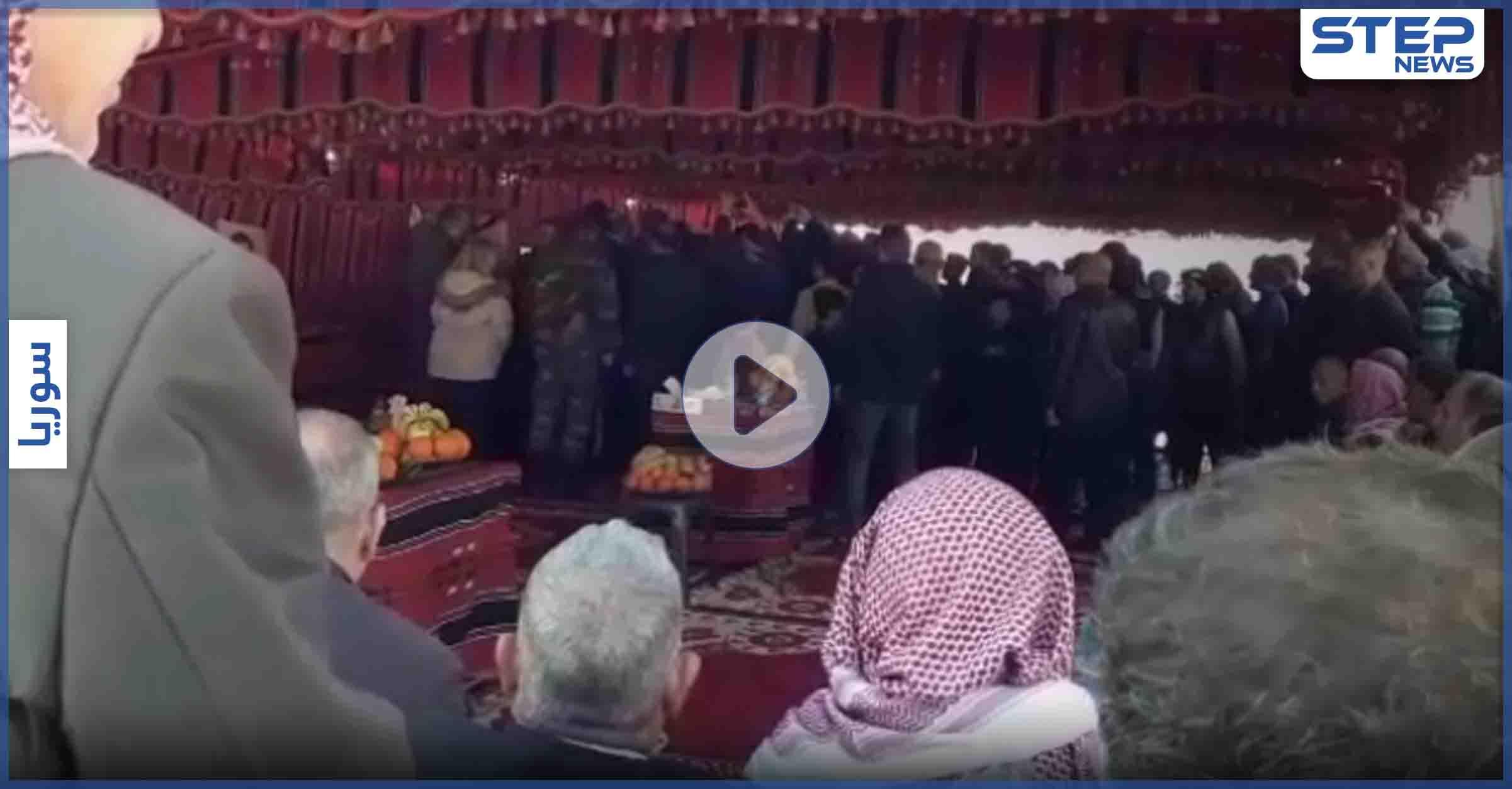 خاص بالفيديو   محافظ حماه وأعضاء برلمان النظام السوري يشاركون بحملة ترويجية لعودة النازحيين