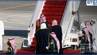 ولي العهد السعودي يستقبل أمير قطر