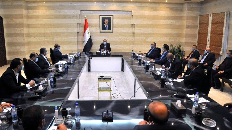 بعد طرح فئة الـ 5 آلاف.. رئيس حكومة النظام السوري يدعو التُجار لـ 6 أمور