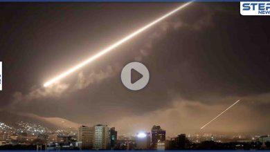 بالفيديو || سلسلة غارات إسرائيلية على مواقع للميليشيات الإيرانية بريف دمشق