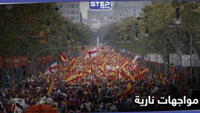 """لليوم الخامس.. مواجهات """"نارية"""" بين محتجين والشرطة في مدن إسبانيا"""