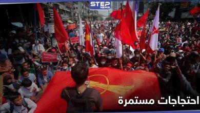 """قتلى باحتجاجات متجددة في ميانمار ودبلوماسي يتعهد بـ """"مقاومة الانقلاب"""""""