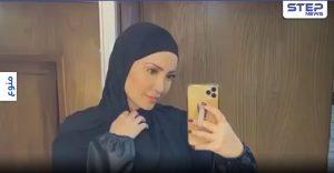 """بالفيديو   من ثوب الاستحمام إلى الحجاب... نسرين طافش تشعل المواقع ومتابعين يشجعونها """"لابقلك لا تشيليه"""""""