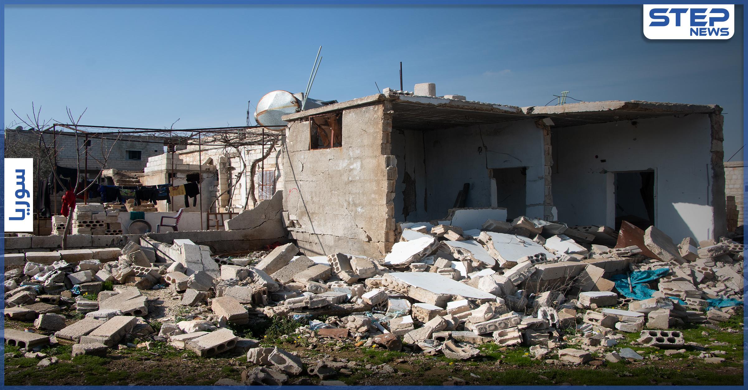 عدسة ستيب نيوز ترصد الدمار الحاصل والنقاط العسكرية التركية المتمركزة جنوب إدلب