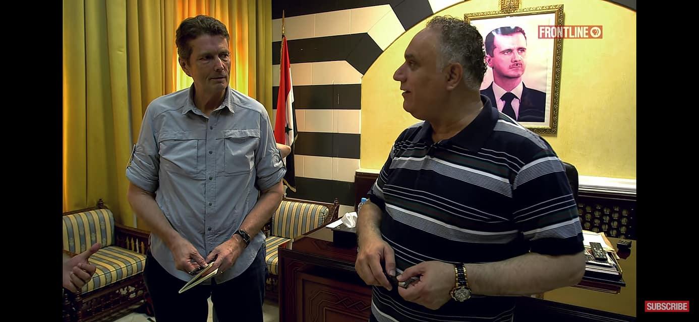 صحفي أمريكي يلتقي الجولاني داخل إدلب