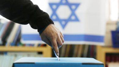 يدلي بصوته في انتخابات إسرائيلية سابقة أرشيفية