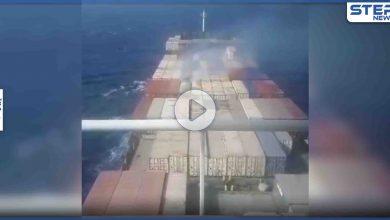 بالفيديو|| طهران تنشر لأول مرة صوراً وفيديوهات لسفينتها التجارية المُستهدفة بـ مياه البحر المتوسط