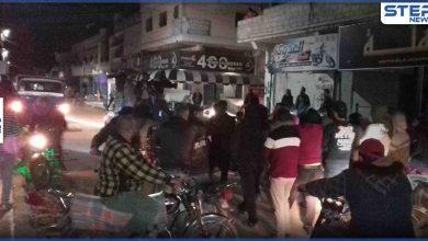 إحياء لذكرى الثورة السورية العاشرة مظاهرة في مدينة طفس غربي درعا