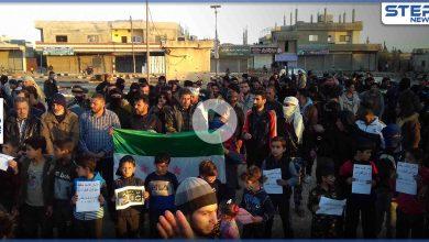 مظاهرة في مدينة طفس بريف درعا الغربي يوم أمس تأكيداً على استمرارية الثورة السورية و مبادئها
