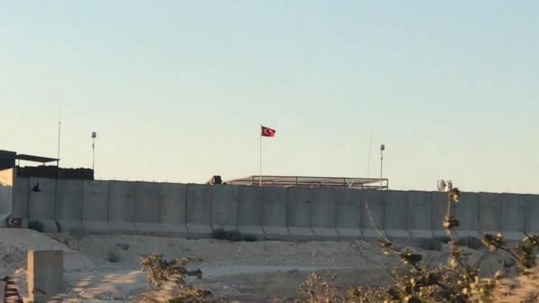 القوات التركية تنشىء نقطة مراقبة