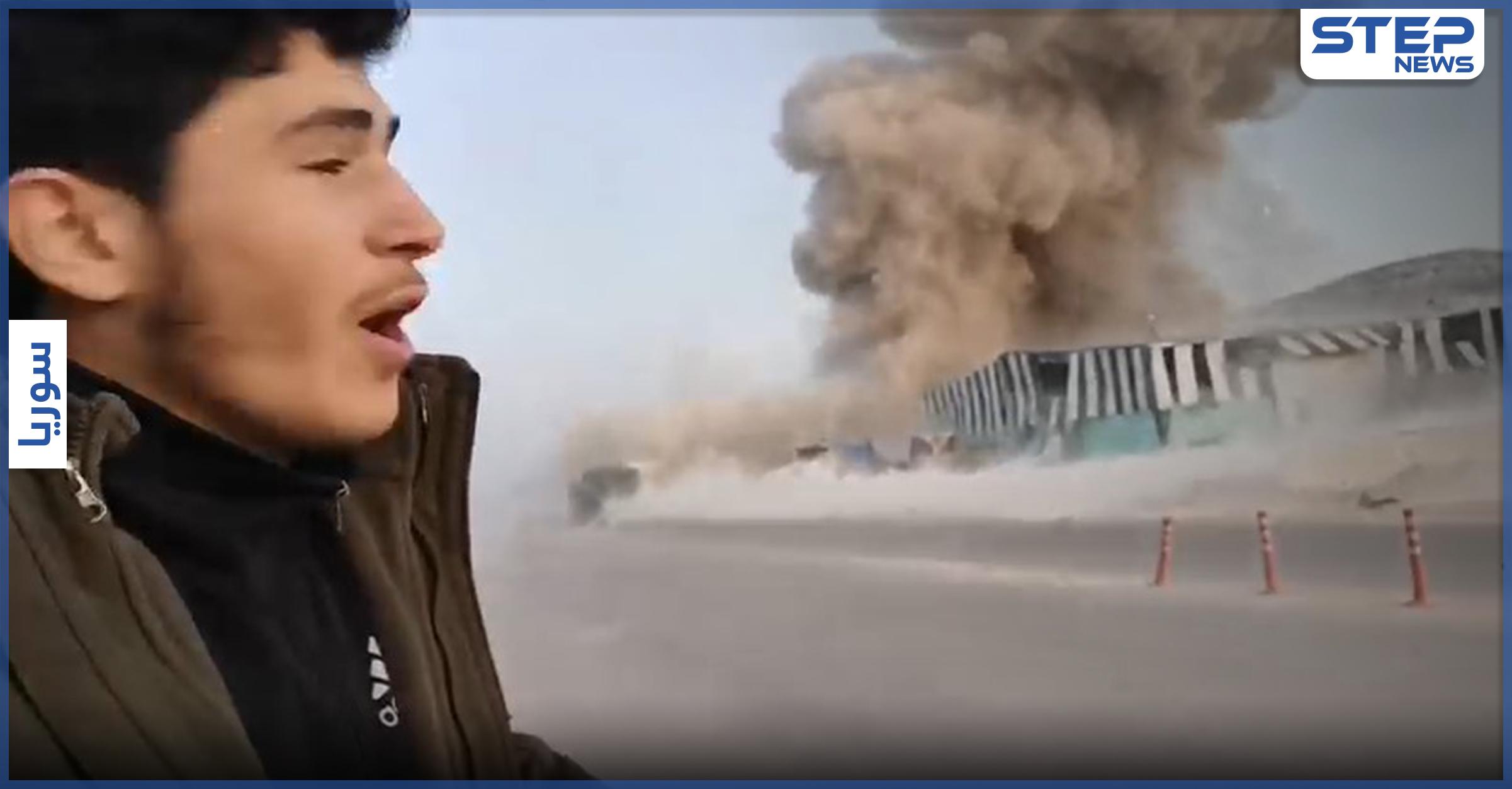 بالفيديو || تصعيد روسي على إدلب بصواريخ بالستية وقصف جوّي, فإليك أبرز النقاط المُستهدفة!