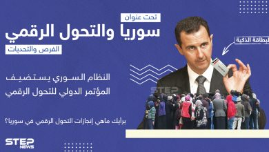 برأيك ما هي إنجازات التحول الرقمي في سوريا؟